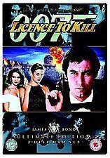 Licence to Kill Ultimate Edition 2 Disc Set DVD 1989  NEW SEALED  bs6/1