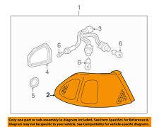 TOYOTA OEM 98-02 Corolla Taillight Tail Light Lamp Rear-Lens Left 8156102070