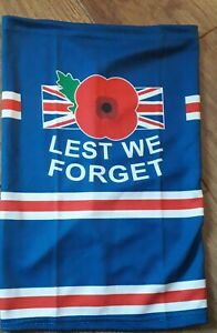 lest we forget  SNOOD / FACE MASK the Somme