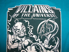 "Villians Of The Universe ""The Wild Ones"" Blue Graphic Print T Shirt - S"