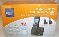 Binatone Defence 6025 Cordless Phone Telephone Answering Machine + Call Blocker