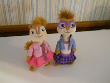 TY Jeanette & Brittany Chipettes Chipmunks plush stuffed dolls toys           JJ