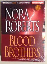 Nora Roberts BLOOD BROTHERS CD Audiobook Audio Book Unabridged