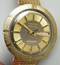 VINTAGE LONGINES 5 STAR ADMIRAL AUTOMATIC DAY DATE MENS WATCH – RARE COCA COLA