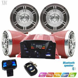 *Golf Cart UTV,ATV, Anti~Theft Speakers USB Audio System Stereo Bluetooth Motor