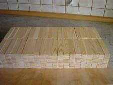 400 Holzbausteine aus Kiefernholz 120 x 24 x 8 mm