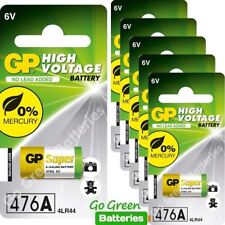 6 x GP 4LR44 6V Alkaline Batteries 476A A544 PX28A L1325 Dog Training Collar