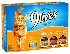New listing 9 Lives Variety Pack Favorites Wet Cat Food 5.5-Ounce - 12 pack