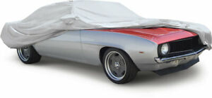 OER Single Layer Titanium Indoor/Outdoor Car Cover 1969 Firebird and Camaro