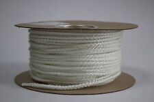 6mm STOVE ROPE WHITE QUALITY GLASS FIBRE ROPE SEAL LAGGING WOOD BURNER OVEN