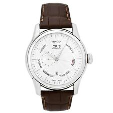 Oris Artelier 44mm Pointer Date Men's Automatic Swiss Made Watch 745-7666-4051LS