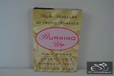 Burning Up: Four Novellas of Erotic Romance Paperback Book - 2003 Bangs, Holt,
