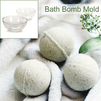 15 pcs Round Ball Clear DIY Mould Bath Bomb Mold Cake Plastic Craft Hanging Xmas