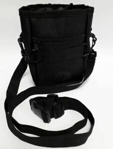 Dog treat carry bag for dog walking, training, grooming treat - pull string