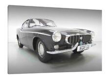 Volvo P1800 - 30x20 pouces toile-Encadrée PHOTO PRINT Classic Car Art
