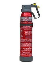 Compact Fire Extinguisher BC Dry Powder 600G Car Van Taxi Caravan Home