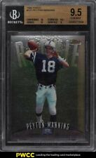 1998 Finest Football Peyton Manning ROOKIE RC #121 BGS 9.5 GEM MINT