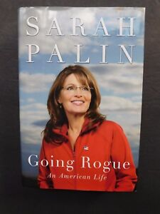 SIGNED autobiography Going Rogue by SARAH PALIN hardcover jacket 1st edition VG+