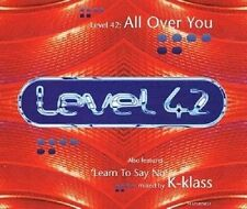LEVEL 42 All Over You CD Single RCA 1994
