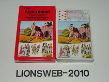 Spielkarten Petit Lenormand - Baptiste Paul Grimaud - KARTEN SIND UNBESPIELT