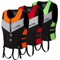 Adult Fishing Kayak Ski Buoyancy Aid Sailing Vest Watersport Life Jacket Safety