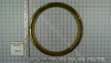 BRASS ROUND RING TO HOLD GLASS FOR BAROMETER Ø 14 CM