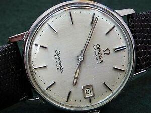 VINTAGE 1967 OMEGA AUTOMATIC SEAMASTER DE VILLE DATE WATCH SERVICE 565 166.020