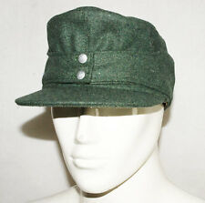 WWII GERMAN WH EM M43 PANZER WOOL FIELD CAP M -31733