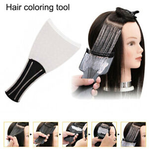 Salon DIY Hair Dye Brush Board Hair Dyeing Soft Comb Board Coloring Styling Tool