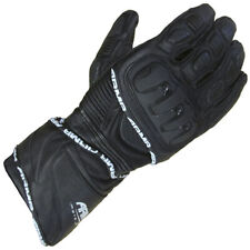 ARMR Moto S550 Leather Motorcycle Motorbike Sports Summer Gloves - Black