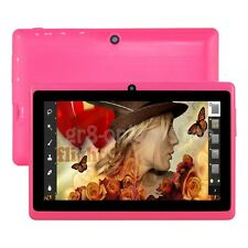 """8GB 7"""" Google Android 4.4 Tablet PC For Kids Children Dual Cameras WiFi Tab Gift"""