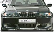 RDX Stoßstange BMW E46 Limousine & Touring E92 Look Front Schürze Vorne Spoiler