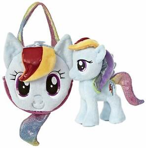 Aurora Rainbow Dash 6.5-Inch My Little Pony with Pony Tail Purse