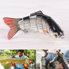 Multi-section Fishing Lure Crank Bait Swimbait Bass Shad Dace 10CM-18G-6#HooksJR