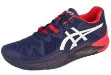ASICS Men's Gel-Resolution 8 Tennis Shoes Peacoat/White Size US 8.5