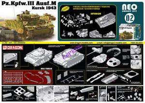 DRAGON 6521 1/35 SCALE Pz.Kpfw.III Ausf.M Kursk 1943 NEO SMART KIT INTERIOR TANK