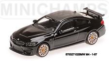 Minichamps 870027102- BMW M4 GTS – 2016 – Noir W/Orange Wheels 1:87