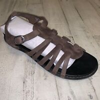 KEEN Sandal Brown Leather Strappy Comfort Adjustable Sandals Women's Size 10