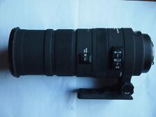 PENTAX FIT Sigma DG OS HSM 150 - 500 mm F/5-6.3 Lens + HOOD + CAPS + CASE