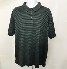 Lord and Taylor Polo Golf Shirt Striped Cotton Casual Classics size XLarge