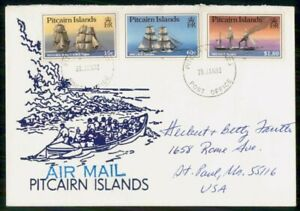 Mayfairstamps Pitcairn Island 1992 Ship Combo Cover wwi_77341