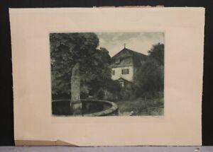 Franz HECKER Bersenbrück 1870-1944 Osnabrück - Junge am Brunnen 1909 28/18