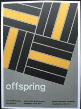 """Offspring & The Cure, 2 Sided Indi/Punk/Rock Concert Mini Poster Art 14x10"""",R143"""