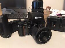 Nikon F3AF 35mm AF SLR Film Camera Black Body