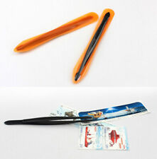 Professional Stamp Tweezers Black Spade 120MM For Stamp Banknote Collection