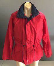 PERFECT SPORTZ Red & Navy Nylon Zip Front Jacket w Quilted Vest Size XL/XXL