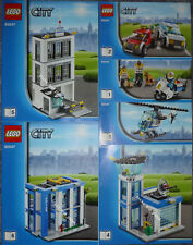 LEGO® City BAUANLEITUNG 60047 Ausbruch aus Polizeistation NEU ONLY INSTRUCTION