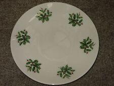 "(1) Lenox Special Christmas Holly Holiday Plate 8 1/8"" diameter"