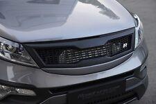 (Fits: Kia 2011-2015 Sportage R) Front Hood Radiator Grille Roadruns Version 2