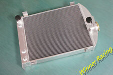 "aluminum radiator Ford hot rod w/Chevy 350 V8 engine of 22.5"" high 3"" chopped"